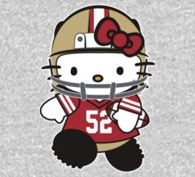Hello Kitty Loves Patrick Willis & The San Francisco 49ers! by endlessimages