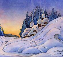 Winter by Aleksandr Yankovsky