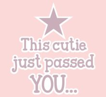 This cutie just passed you shirt design for a runner by jazzydevil