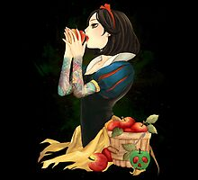 Snow White - Inked by jebez-kali