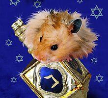 Hanukkah Hamster by jkartlife