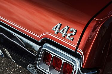 1972 Oldsmobile 442 by Eric Christopher Jackson