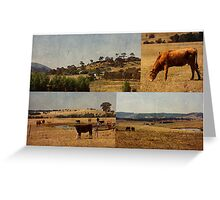 Country Escape Greeting Card