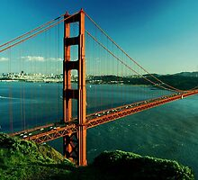 San Francisco Golden Gate Bridge by sadeelishad