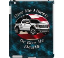 Ford F-150 Truck Give Me Liberty iPad Case/Skin