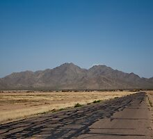 Desert Road by Candy Svoboda
