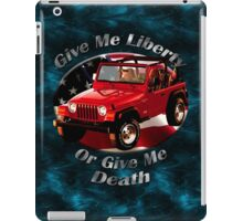 Jeep Wrangler Give Me Liberty iPad Case/Skin