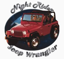 Jeep Wrangler Night Rider by hotcarshirts