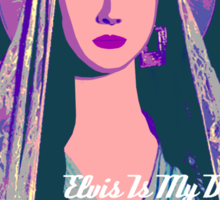 Lana Del Rey - Body Electric Tropico Sticker
