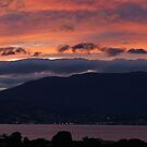 Olde Hobart Town at sunset - Hobart, Tasmania, Australia by PC1134