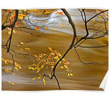 Autumn on the Jock River Poster