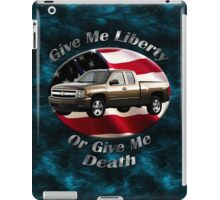 Chevy Silverado Truck Give Me Liberty iPad Case/Skin