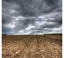 Ploughed Field Photographic Print