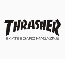 Thrasher Logo Black by Dan Roberts