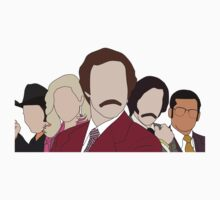Anchorman faceless by Jordan Turner