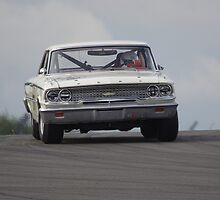 Historic Racing - Donington Park 2013 - #170 Bill Shepherd - Ford Galaxie 500 by motapics
