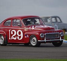 Historic Racing - Donington Park 2013 - #129 Gavin Watson - Volvo PV544 by motapics