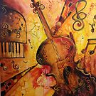 A TOUCH OF MUSIC by Ivana Pinaffo