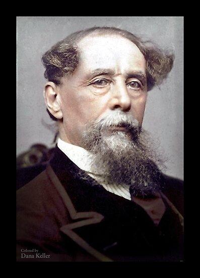 Charles Dicken, ca. 1867 by Dana Keller