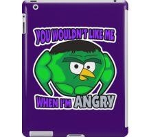 Angry Birds Hulk iPad Case/Skin