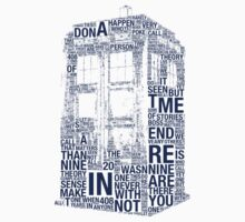 Tardis of quotes  by kiddchino