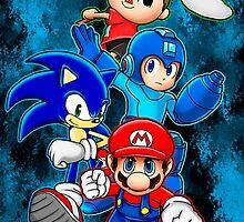 Super Smash Bros by Blaze-chan