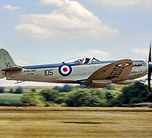 Supermarine Seafire F.XVII SX336 G-KASX by Colin Smedley