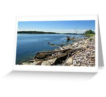 Shores of Kettle Lake Greeting Card