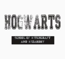 Hogwarts School of Witchcraft and Wizardry by pandagoo