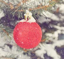 Red Christmas Ornament by afeimages