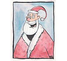 Santa Portrait  Photographic Print