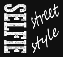 Redbubble Selfie Street Style Tee Black by raineOn