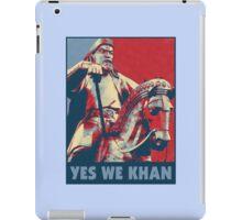 Yes We Khan iPad Case/Skin