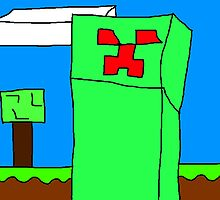 minecraft creeptard by Doodleman360