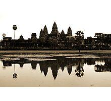 Angkor Wat at dawn Photographic Print
