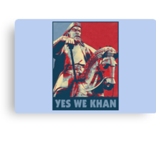 Yes We Khan Canvas Print