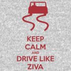 Keep Calm and Drive Like Ziva by Pixelchicken