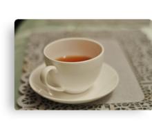 Tea and Sympathy Canvas Print