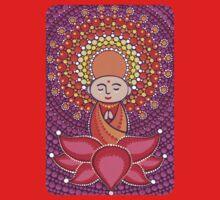 Jizo Meditating upon a Ruby Lotus T-Shirt