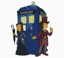 Dr Who - Simpsonized #1 by KZADesign