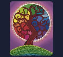 Rainbow Orb Tree of life Kids Clothes
