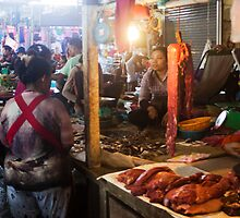 Markets at Siem Reap, Cambodia. by Glen O'Malley