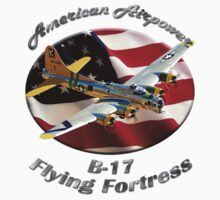 B-17 Flying Fortress American Airpower by hotcarshirts