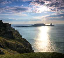 Worms Head, Swansea, Gower by Jon James Photography