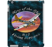 B-17 Flying Fortress King of the Sky iPad Case/Skin