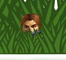 Garen sees you Sticker