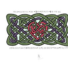 Eternal Love Knot by Jessica Caldwell