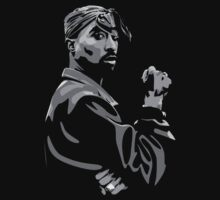 Tupac Shakur #1 by KZADesign