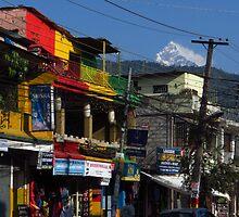 Jamaican Colours, Pokhara, Nepal by wiggyofipswich