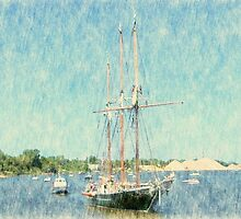 S/V Denis Sullivan - Parade of Sails by Francis LaLonde